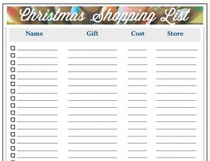 christmas list maker  Christmas List Maker Printable | Best Template & Design Images